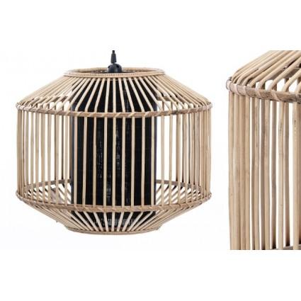 Lámpara de techo de bambú estilo boho - LEIRE