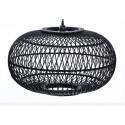Lámpara de techo de bambú color negro - KARMA