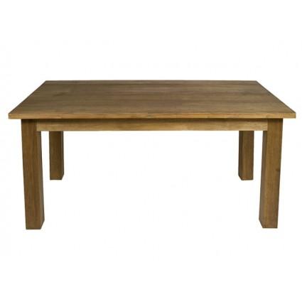 Mesa de comedor de estilo nórdico madera de teca - FENG