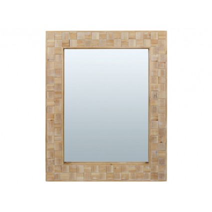 Espejo rectangular grande marco tallado cuadros - CARRÉ