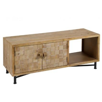 Mesa de Televisión Shabby Chic de madera de Santiago Pons - NARA
