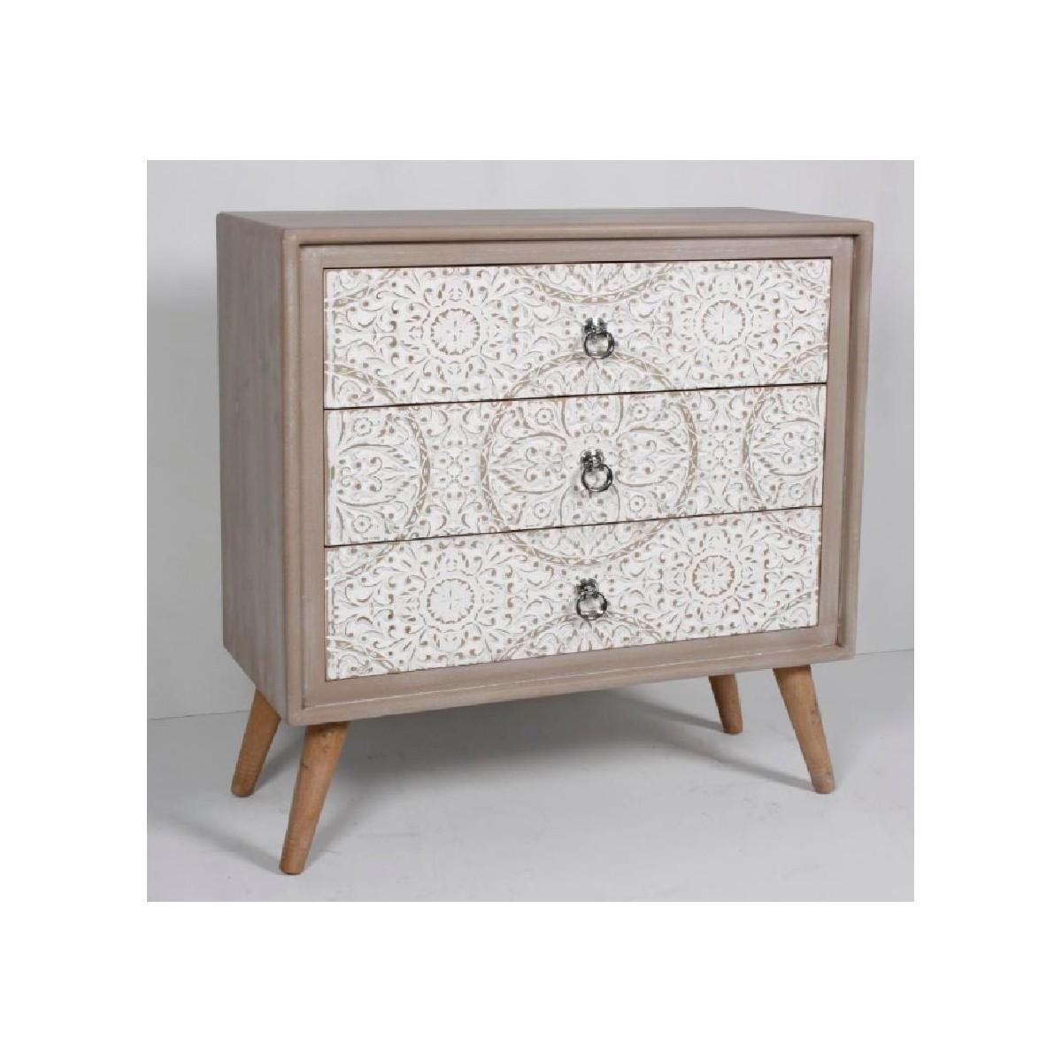 C moda con cajones estilo oriental vitara de hermes for Muebles de estilo oriental