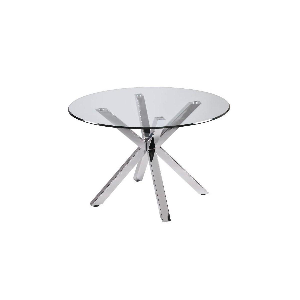 Mesa de comedor redonda patas hierro de camino a casa idol for Patas de mesa de hierro