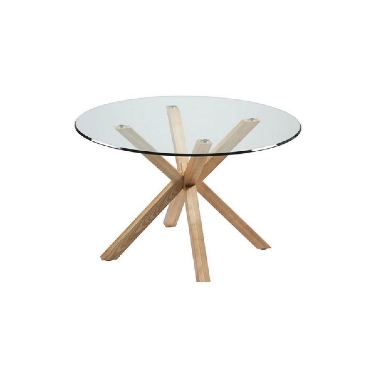 De la mesa de comedor redonda con patas madera de fresno de camino a casa idol - Patas para mesa redonda ...